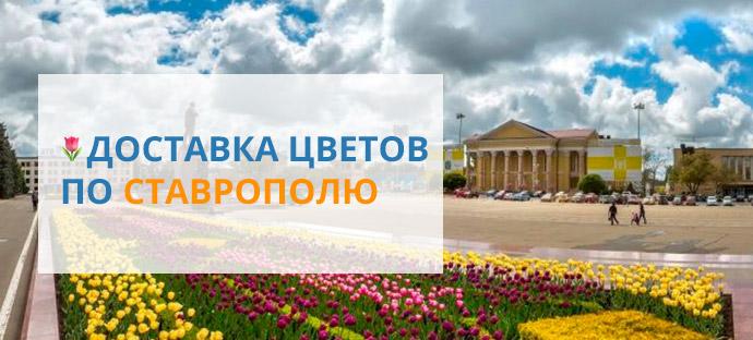 Доставка цветов по Ставрополю